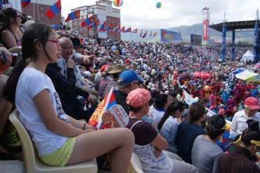 Everybody wanted to see the opening ceremony.
