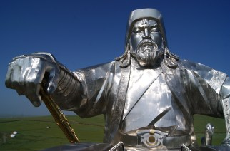 That's Genghis Khan.