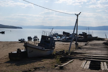 The harbour also seemed to act as a ship graveyard...