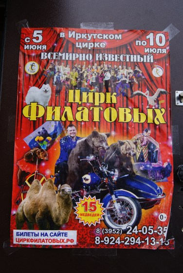 Bears on a motorbike and a penny-farthing? Camels? Part of me thinks we should have grabbed those tickets when we had the chance.