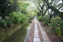 The Path of Philosophy in northern Higashiyama.