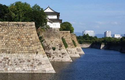 Castle moat.