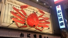 Is there a Japanese city that doesn't have at least one giant crab on a wall somewhere?