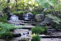 The landscaped gardens in Koko-en.