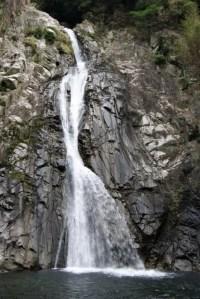 Beautiful Nunobiki Falls.