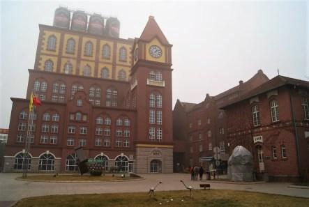 The Tsingtao brewery.