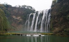 The largest waterfall in China, they say.