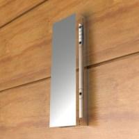 Slimline stainless steel door knocker - Blu Performance
