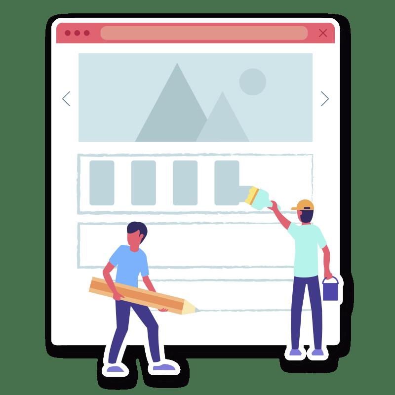 BluCactus Agencia de diseño web - Diseño de páginas web - Arreglando