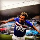 Con la maglia della Sampdoria Antonio Cassano ha segnato 43 gol, 14o marcatore di tutti i tempi.