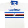 Maglia bianca Samp for Peace 1995/1996