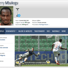 26 anni, attaccante (Nigeria)
