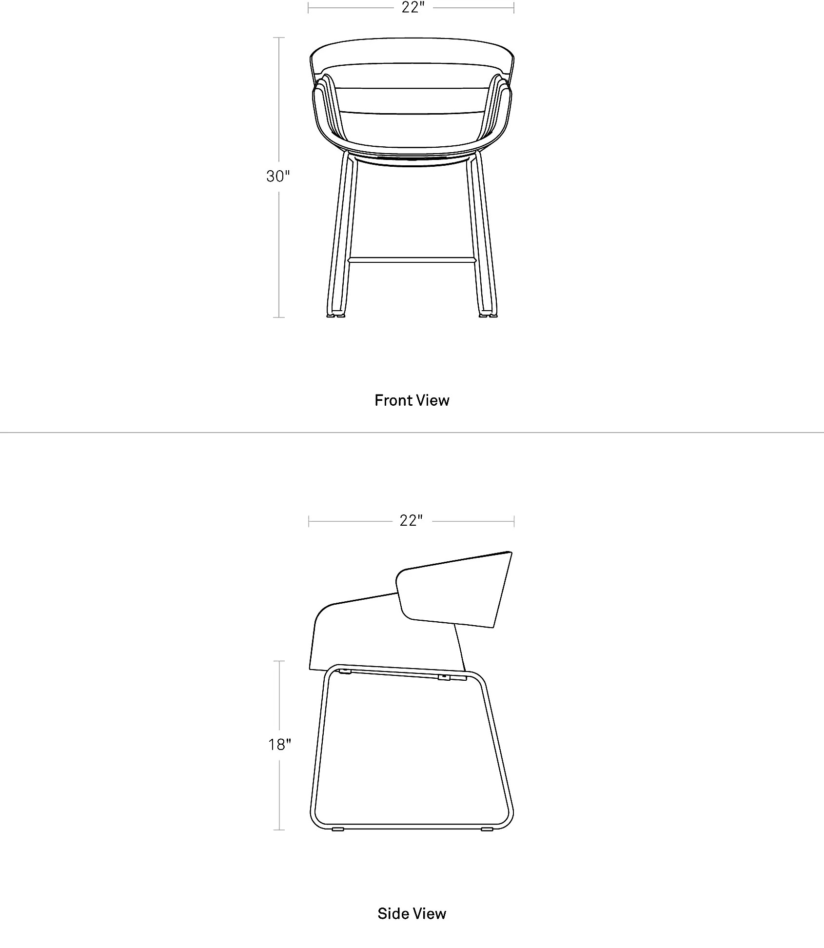 Dining Chair Dimensions Racer Dining Chair