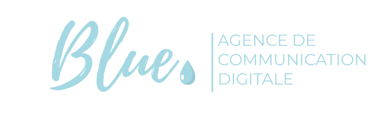 logo blue agence de communication digitale