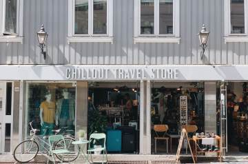 CHILLOUT TRAVEL STORE外観