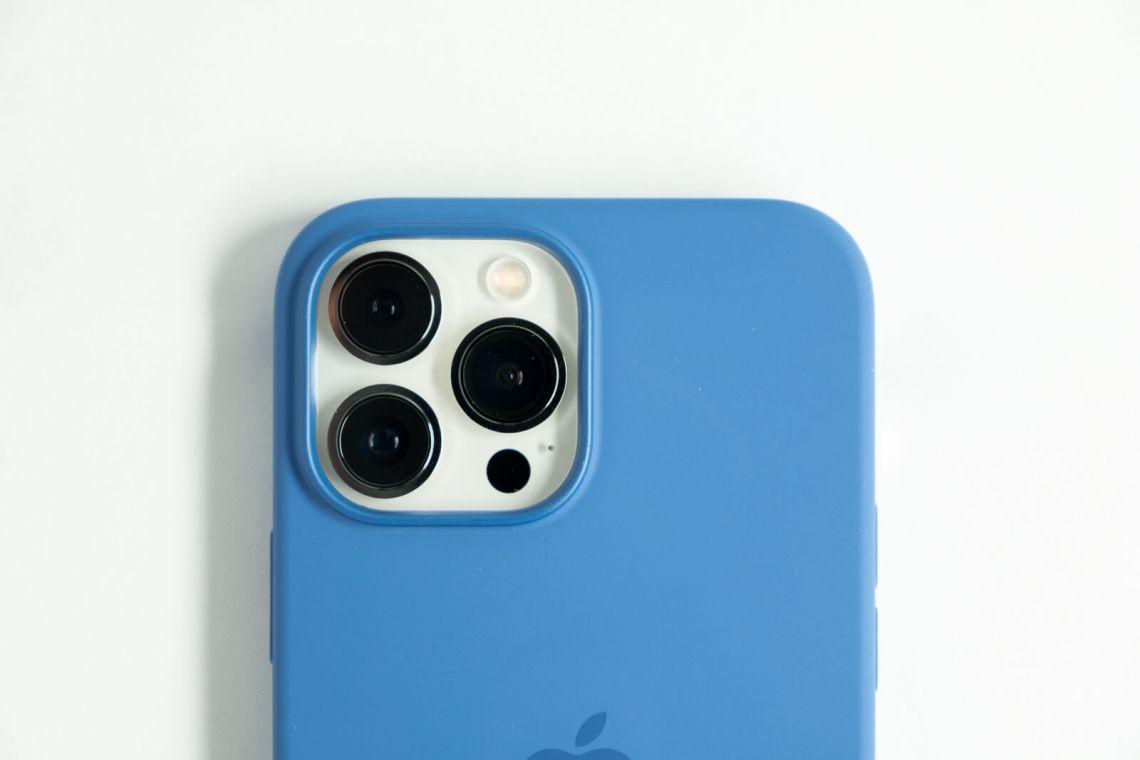 iPhone13 Pro MaxのApple純正シリコーンケース