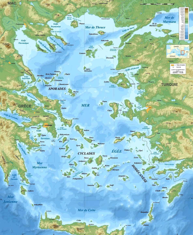 Aegean Sea | Mediterranean Sea | Britannica