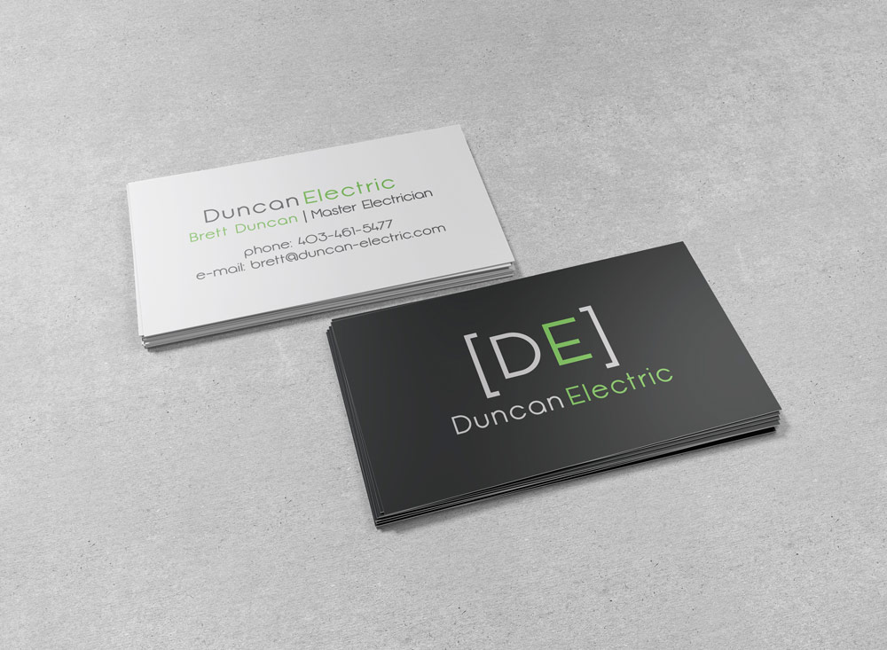 Duncan Electric - Business Cards