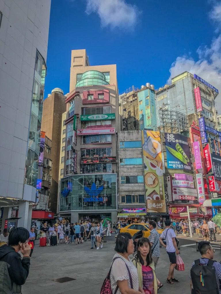 Ximending Neigborhood Taipei
