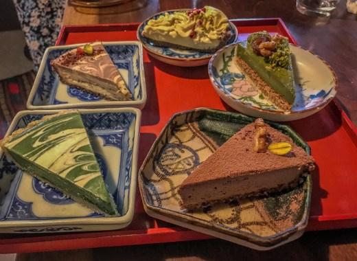 עוגות טבעוניות בקיוטו