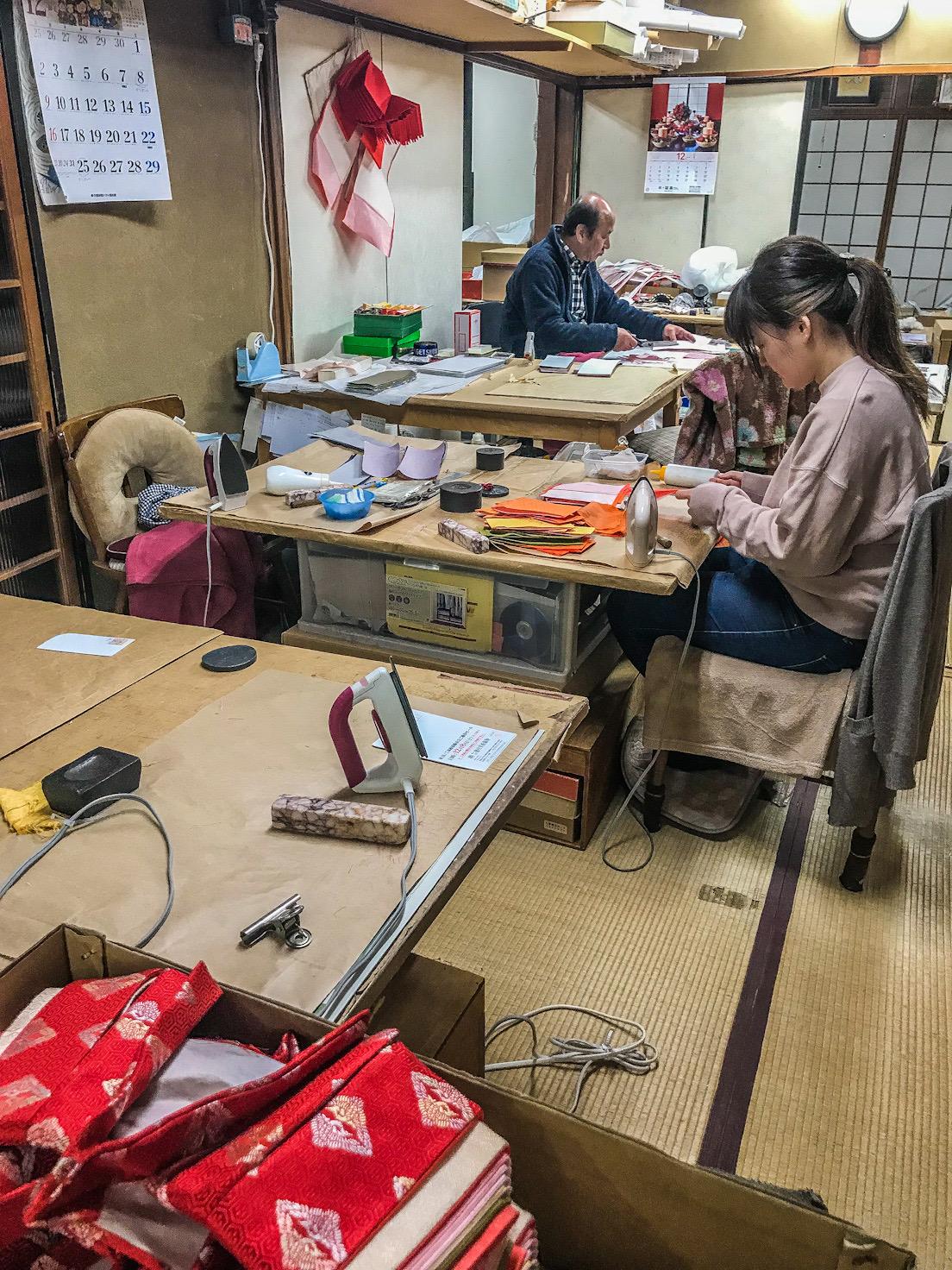 Japanese craft factory