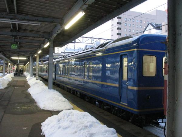 当日は天候に恵まれましたが、やはり東北。雪があるのが当たり前。(C) Blue Works