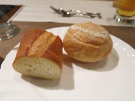 各レビューで絶賛されている焼きたてパン。ほんとに美味しかった!