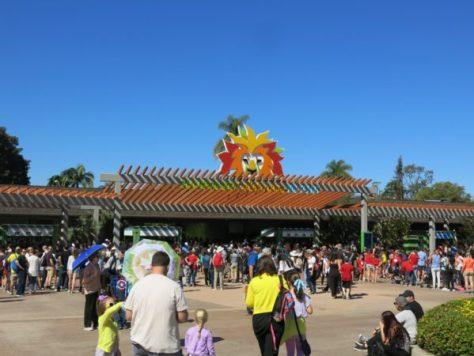 サンディエゴ動物園入場ゲート