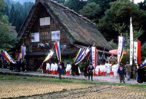 Doburoku Matsuri (Matsuri means festival) in Shirakawa-go.