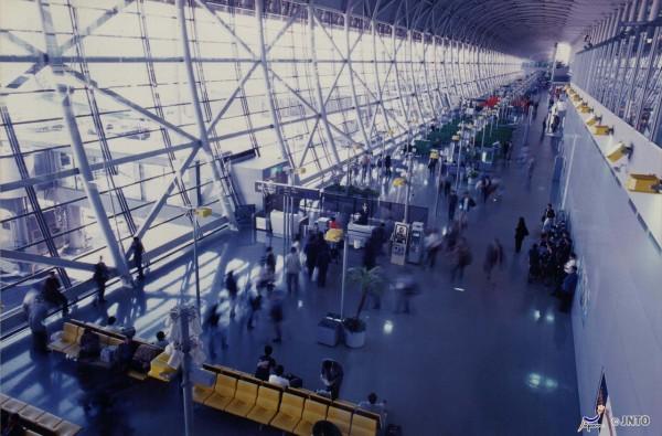 Kansai Airport is the gateway to this itinerary. ©Kansai International Airport Co.,Ltd/©JNTO