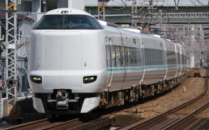 Many of Limited Express Kuroshio is operated by newer 287 series.