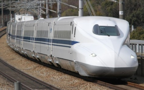 Shinkansen is the high speed train service in Japan. Kodama is the slowest train on Tokaido-Sanyo Shinkansen line.