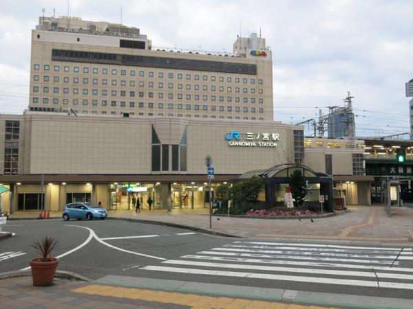 JR Sannomiya station north side