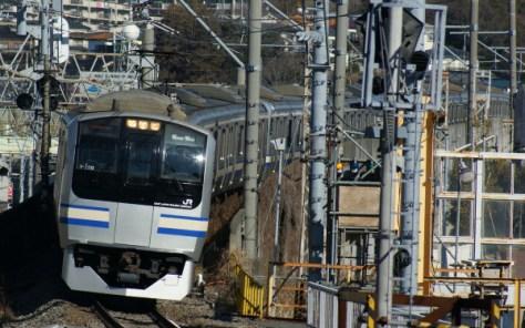 Rapid train on Sobu Yokosuka line