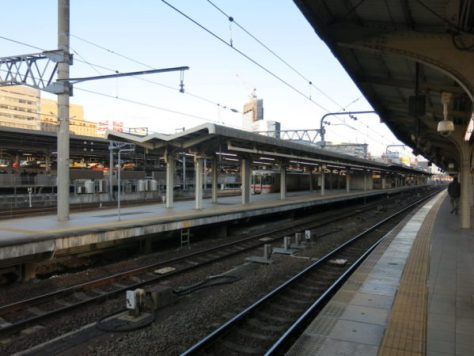 Overview of Nagoya station conventional line platforms