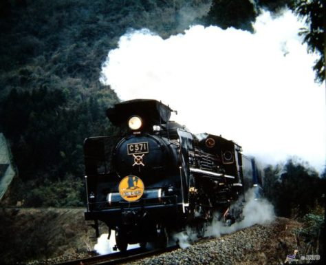 SL Yamaguchi is one of most popular train by steam locomotive. (C) soryofu / JNTO