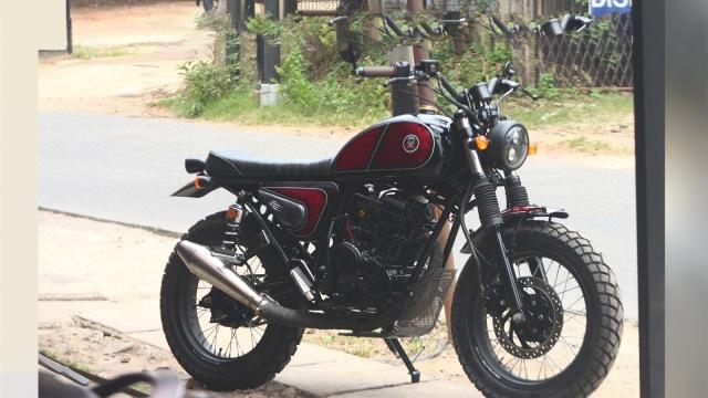 Bermodal Rp 8 Juta Bisa Bangun Yamaha Scorpio Bergaya Jap