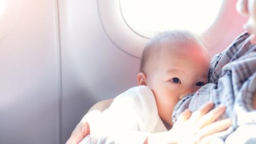 Bayi, Bayi di Pesawat, Traveling bersama bayi