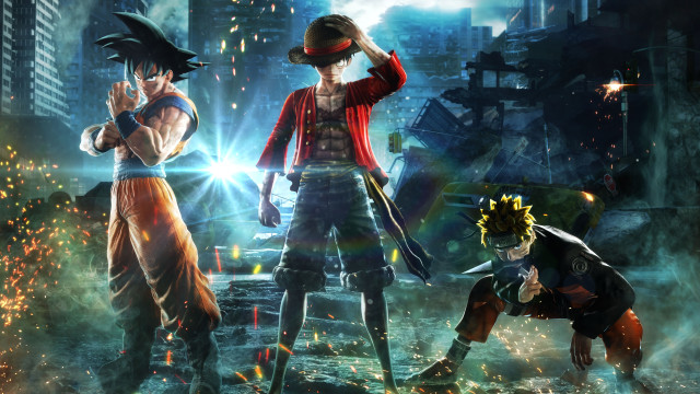 Forst of all, naruto doesn't survive from boz piccolo's blast. Naruto Goku Dan Luffy Bertarung Di Game Jump Force Kumparan Com