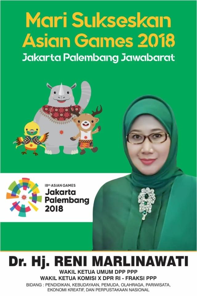 Spanduk Sea Games 2018 : spanduk, games, Penjelasan, Politikus, Marlinawati, Baliho, Games, 2018', Kumparan.com
