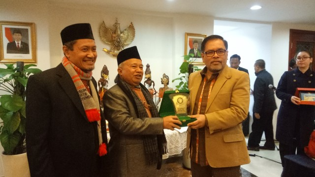 MUI, NU, dan Muhammadiyah bertemu Dubes Indonesia untuk China