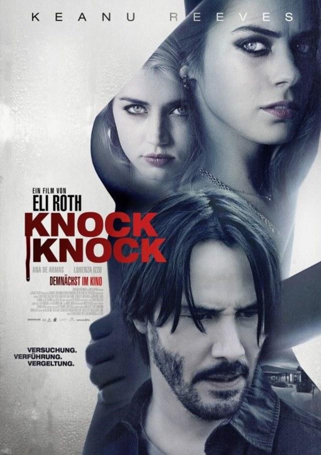 Sinopsis Knock Knock : sinopsis, knock, Sinopsis, Knock, Knock,, Ketika, Keanu, Reeves, Terjebak, Gadis, Berkelainan, Seksual, Kumparan.com
