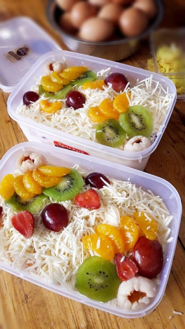 Gambar Salad Buah : gambar, salad, Salad, Eksis, Indonesia,, Resepnya, Kumparan.com