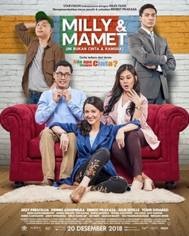 Nonton Film Milly Dan Mamet Full Movie : nonton, milly, mamet, movie, Streaming, Indonesia, Milly, Mamet,, Gratis, Kumparan.com