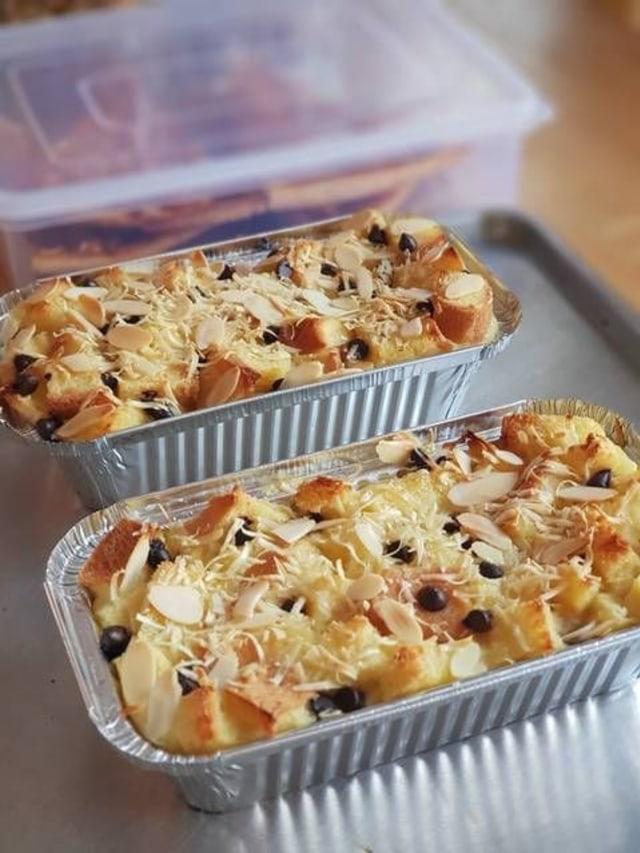 Resep Puding Roti : resep, puding, Resep, Puding, Panggang, Lezat!, Kumparan.com