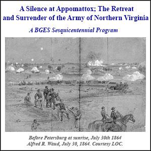 Silence at Appomattox