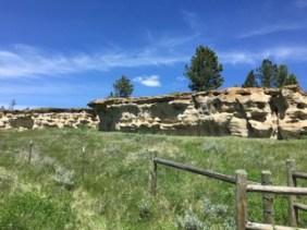 Buffalo Jump at Rosebud Battlefield / Jo Roberts