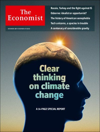 The Economist A new way to fight climate change  Blue