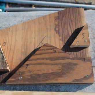 Mounting blocks mounted