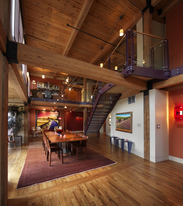 Franklin Loft Remodel  LoDo Neighborhood Denver CO  Blue Architecture